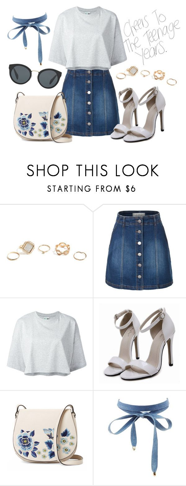 """Outfit #223"" by catytomlinson95 ❤ liked on Polyvore featuring GUESS, LE3NO, Puma, French Connection, Charlotte Russe and Prada"