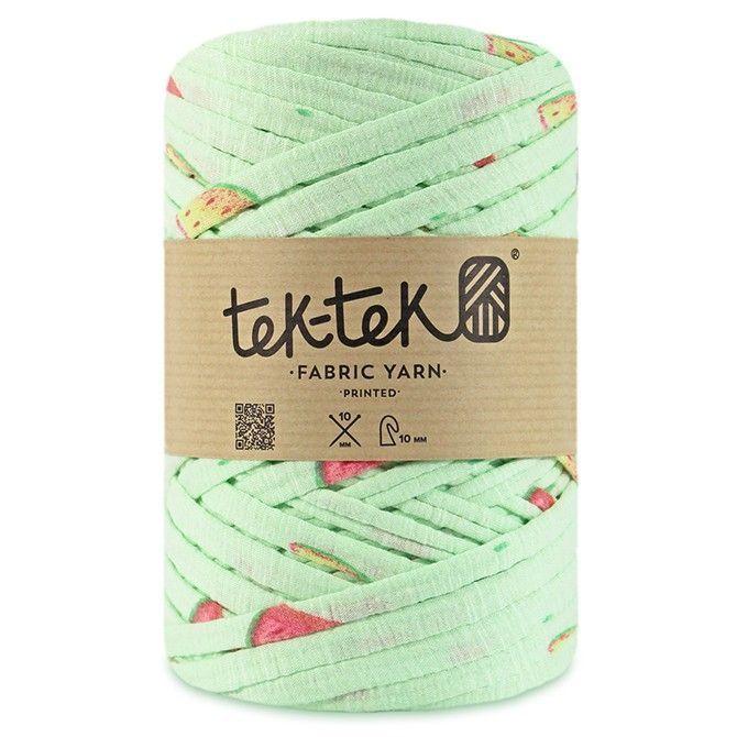 Http Www Aliexpress Com Store 1687168 Tek Tek Fabric T Shirt Yarn Like Hoooked Zpagetti Crochet Mint Green W Print Benang