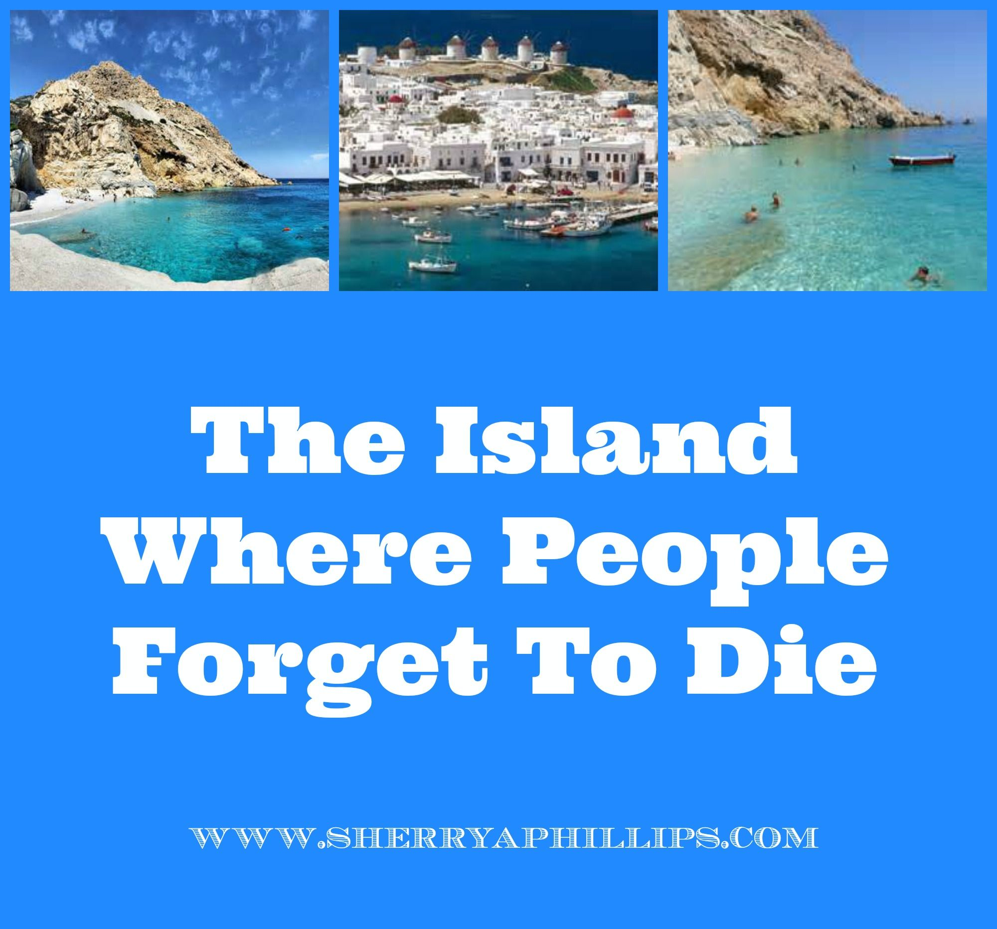 An island where people forget to die 31