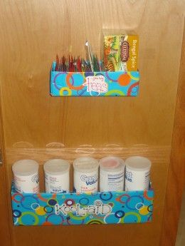 DIY recycled storage for the pantry - Will be using this idea!