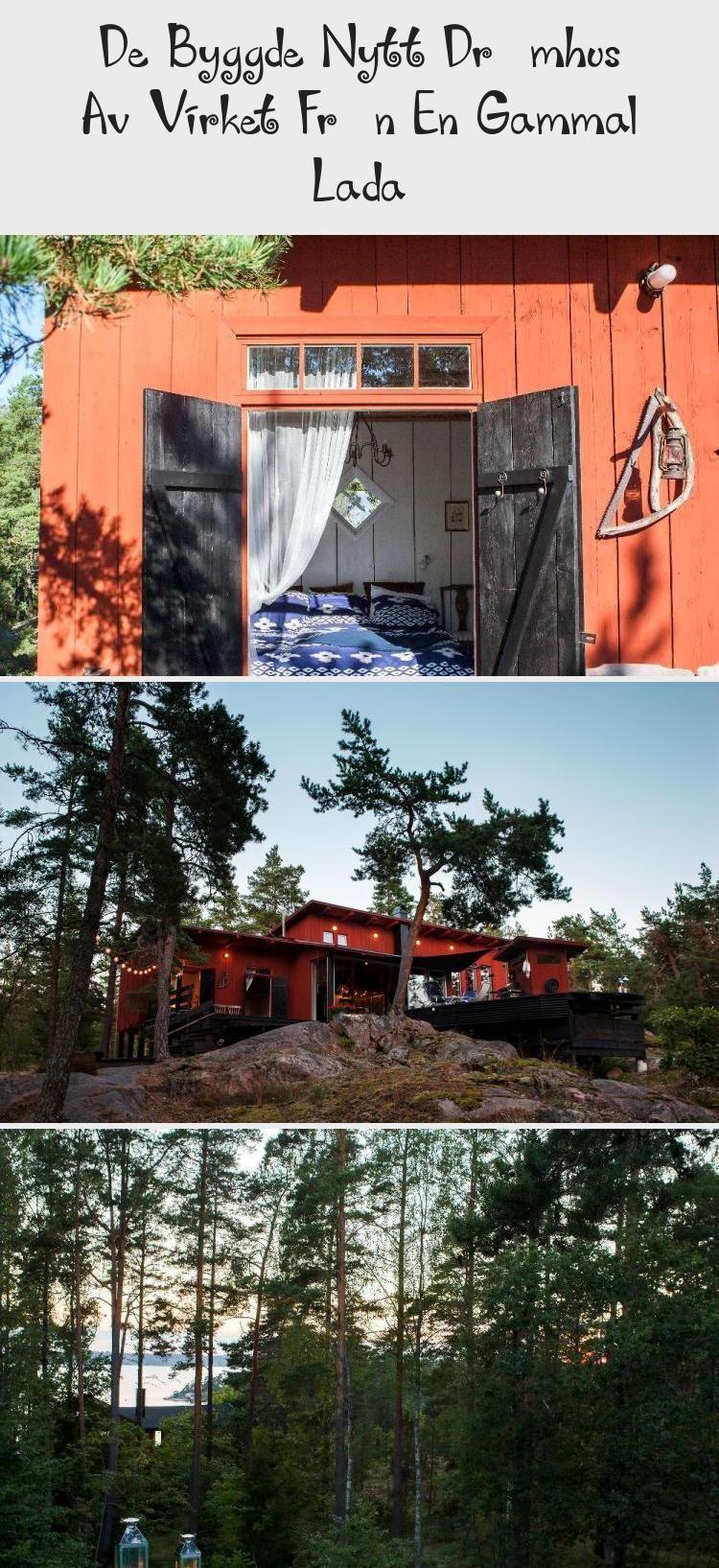 Photo of De bygde nytt drømmehus fra treverket fra en gammel låve – Hjem …- De Byggde Ny …