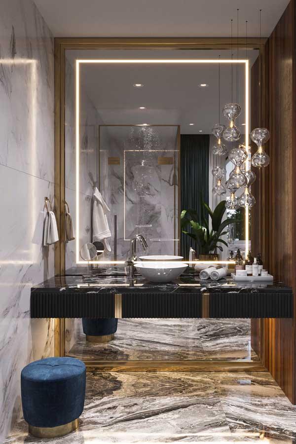 ديكور حمامات وتصاميم حمامات مودرن غاية في الفخامة ديكورات أرابيا In 2020 Bathroom Decor Interior Luxury Bathroom