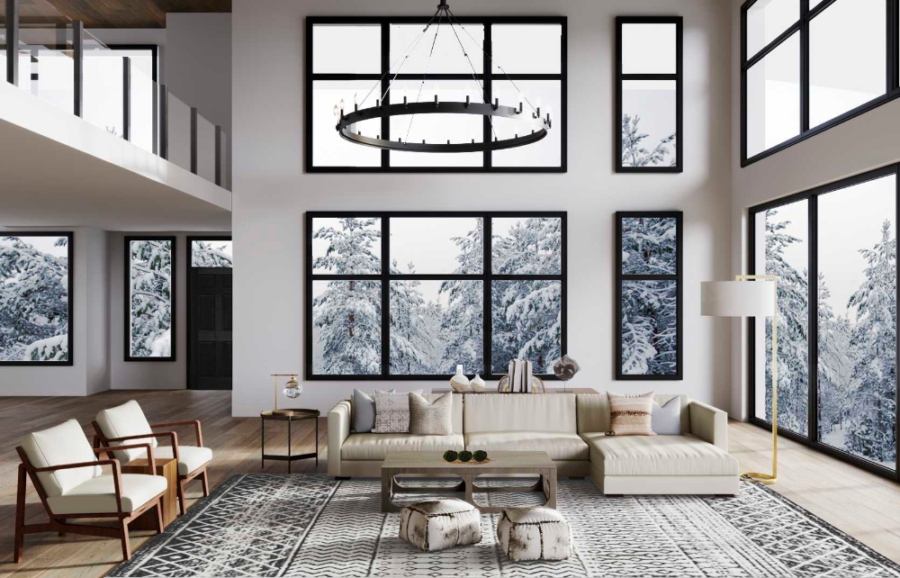 Modern Rustic Midcentury Modern Scandinavian Living Room Design By Havenly I Scandinavian Design Living Room Beautiful Room Designs Living Room Scandinavian