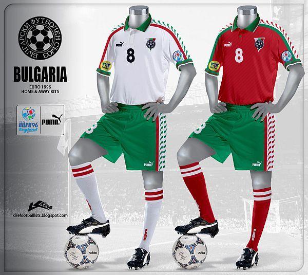 Bulgaria Euro 1996 Bola Pinterest Bulgaria, Euro