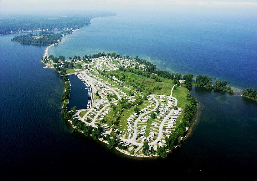 Aerial View Of Association Island Koa 1000 Islands At