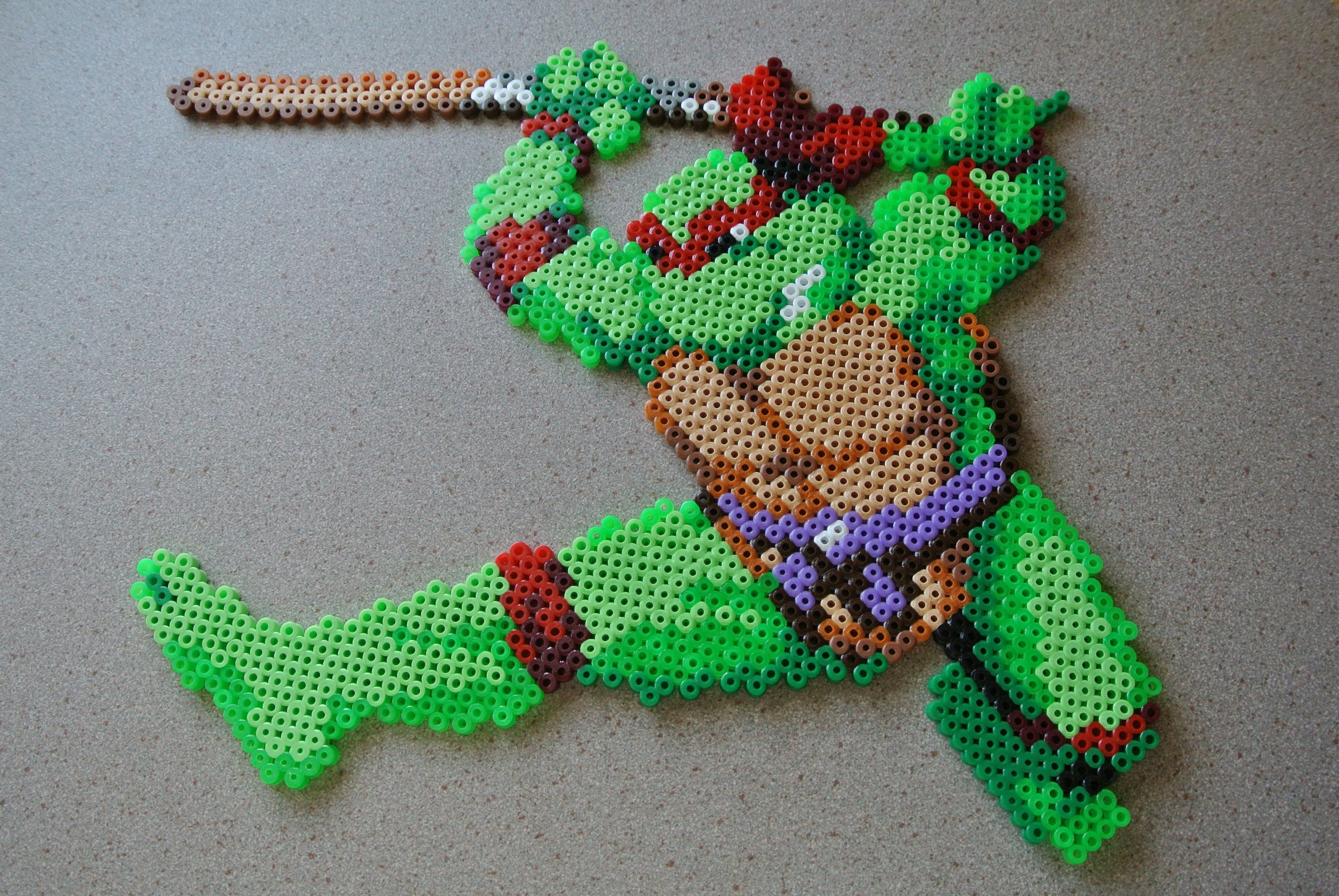 TMNT Hama perler beads by  taxie25