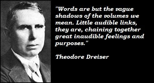Image result for theodore dreiser