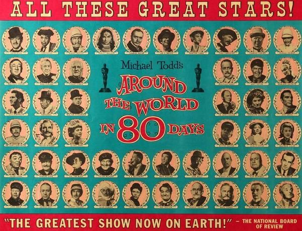 Around The World In Eighty Days 1956 Movie Posters Around The