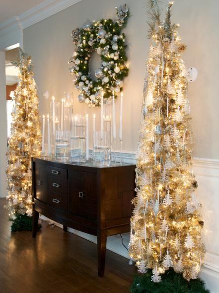 christmas tree - Celebrities Christmas Decorated Homes