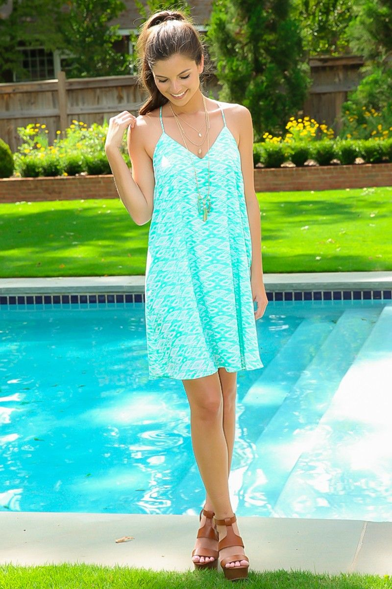 True To Me Dress-Sea Mint | The Red Dress Boutique | Dresses ...