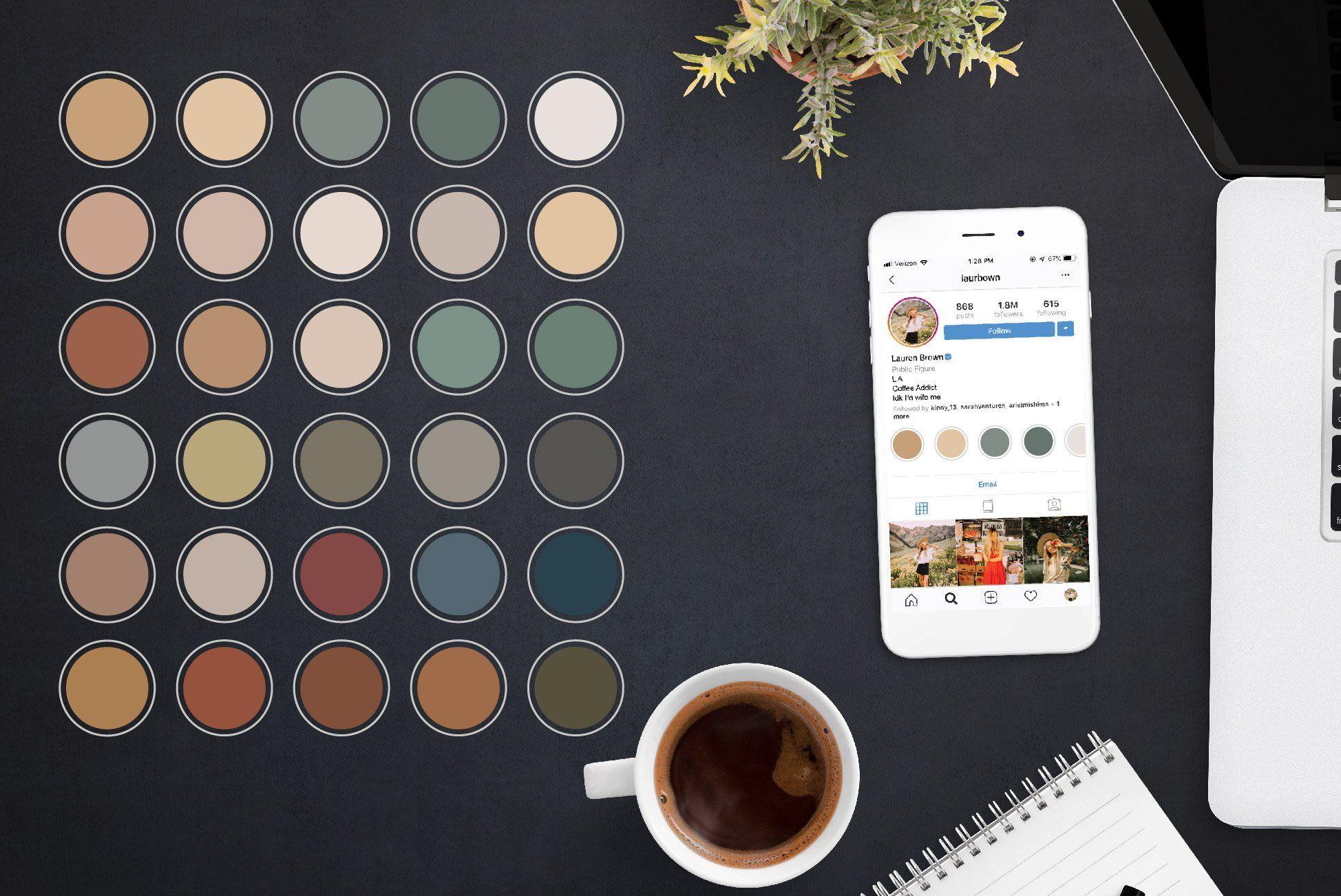 Deep Neutral Instagram Highlights Pink instagram
