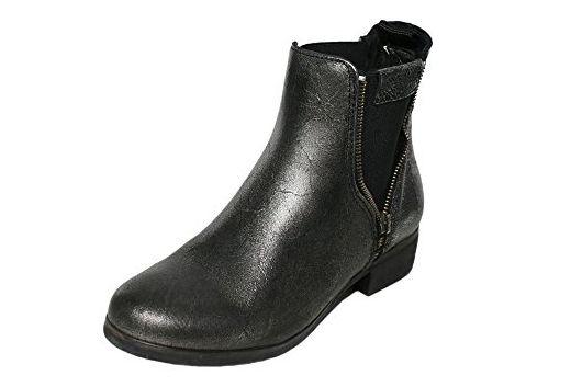 Chelsea Damen Stiefeletten Boots Stiefel Annie Silber Replay HEWD2I9