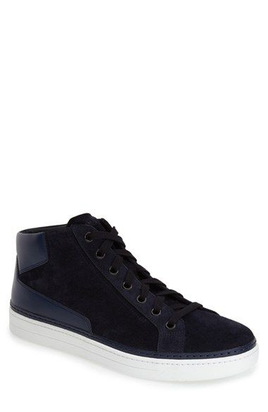 promo code 244e4 9ba76 Prada Avenue Mid Sneaker (Men) available at Nordstrom