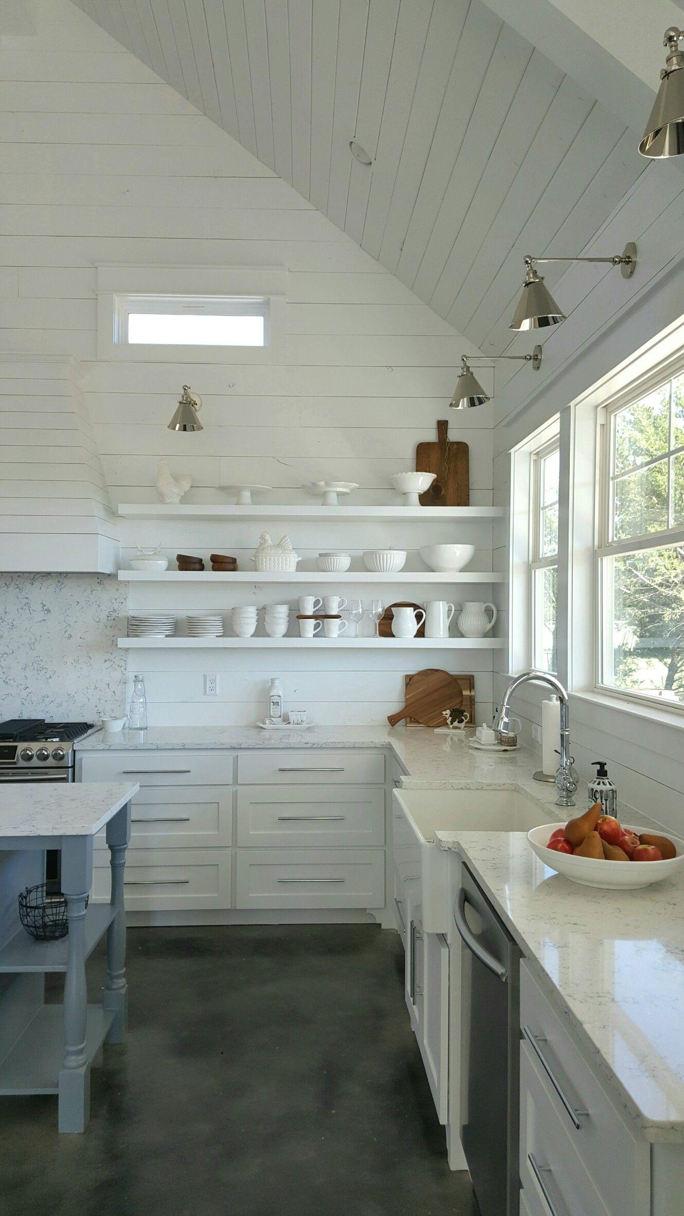 Our dream farmhouse kitchen shabby white pinterest farmhouse