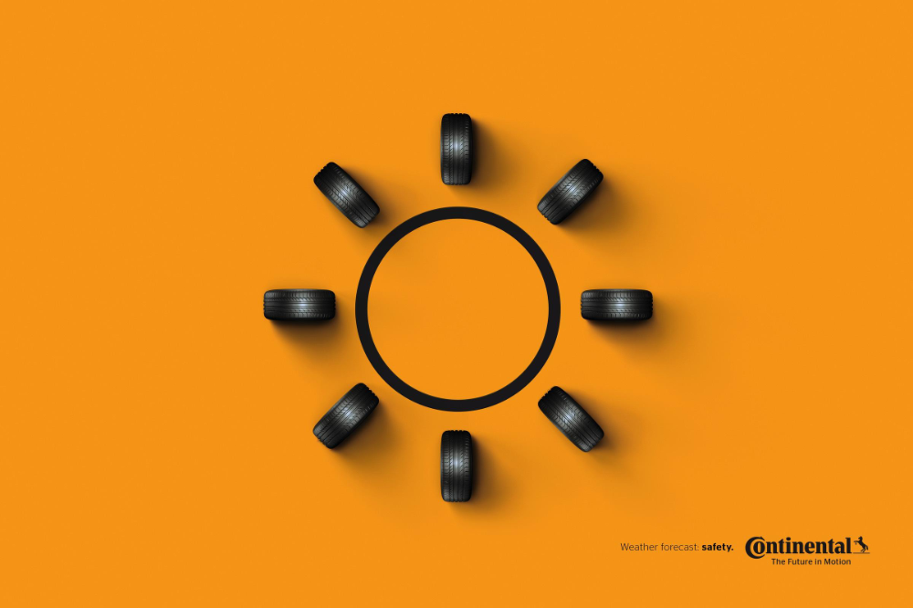 Continental Print Advert By Rai Weather Forecast Ads of