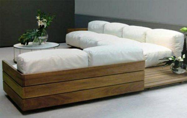 wohnzimmer designideen modern diy möbel sofa aus paletten weiß ... - Wohnzimmer Couch Modern