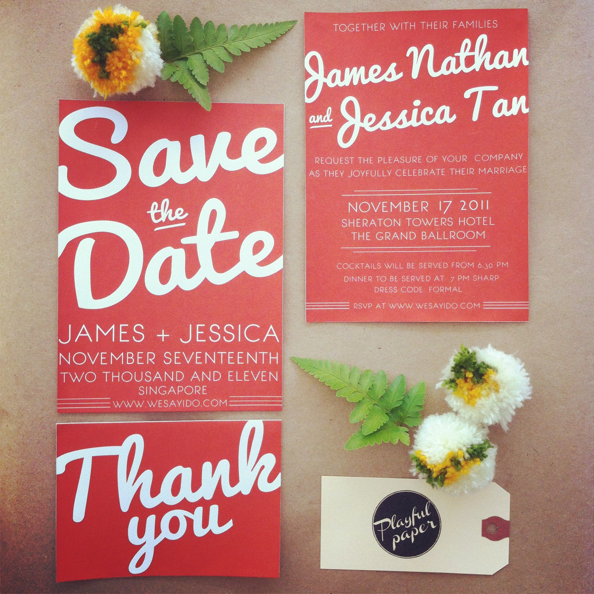 More wedding invites: all part of our ready-to-print range. more at ...