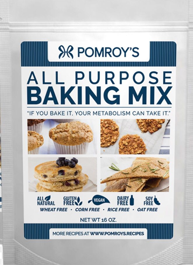 Substitute for FMD Pomroy Baking Mix  From Anna Marie:  For P3 - 1/2 cup oat flour, 1/4 cup coconut flour, 1/4 cup almond flour, 1/4 cup safflower oil.  For P1 -  1/2 cup oat flour, 1/2 cup spelt flour, 1/4 cup water