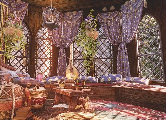 Sera S Room In Skyhold Dragon Age Fantasy Landscape Fantasy Castle Anime Scenery