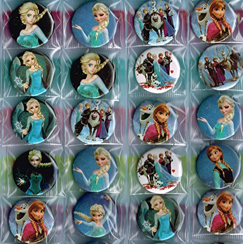 9 Frozen Badges, Individually Wrapped Elsa Badges Frozen Badge for Frozen Party Bag Frozen http://www.amazon.co.uk/dp/B00LQNMIUU/ref=cm_sw_r_pi_dp_uwtSub0C5SP7E