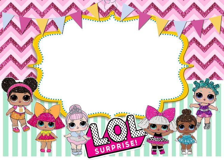 L O L Free Printables Surprise Birthday Invitations Lol Dolls Birthday Surprise Party