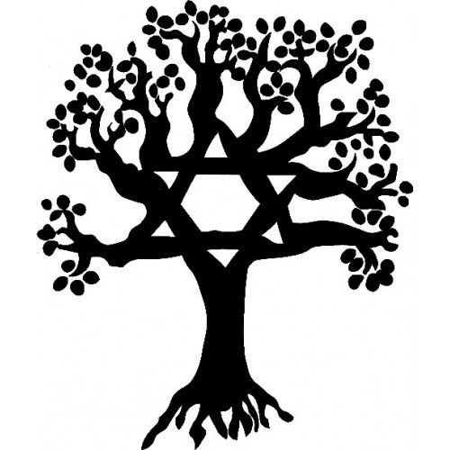 Jewish Tree Of Life Drawing