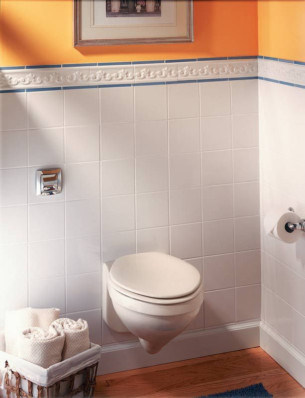 Concealed Tank Toilets Move The Tank Inside The Wall Void By Housing It Within A Special Carrier The Result Is Tiny Bathrooms Small Bathroom Restoration Shop
