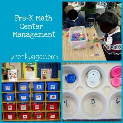 Art great setup for prek math centers/stations to-learn-organization-decor