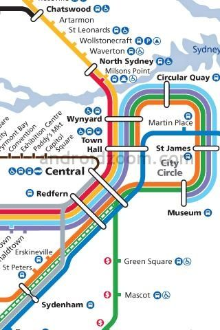 Sydney Metro Metro Maps Of The World London Underground Tube