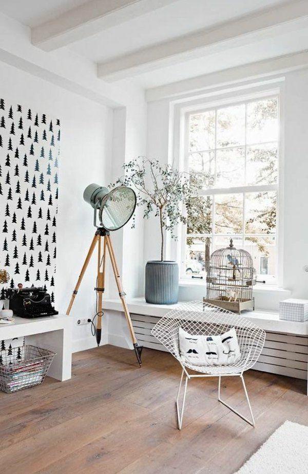 Skandinavisch Einrichten Entspannungsecke Gestalten · Skandinavisch  EinrichtenSkandinavische MöbelMöbel WohnzimmerGroße ...