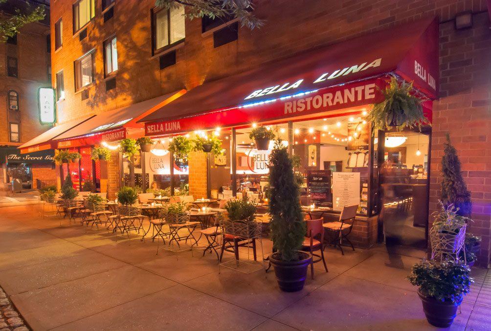 Best Italian Restaurant Upper West Side Bella Luna Favorite Nyc