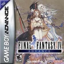 Final Fantasy Iv Gameboy Advance Game Final Fantasy Iv