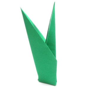 How to make a simple origami stem httporigami flower page instructions to learn how to make a simple origami stem mightylinksfo Choice Image