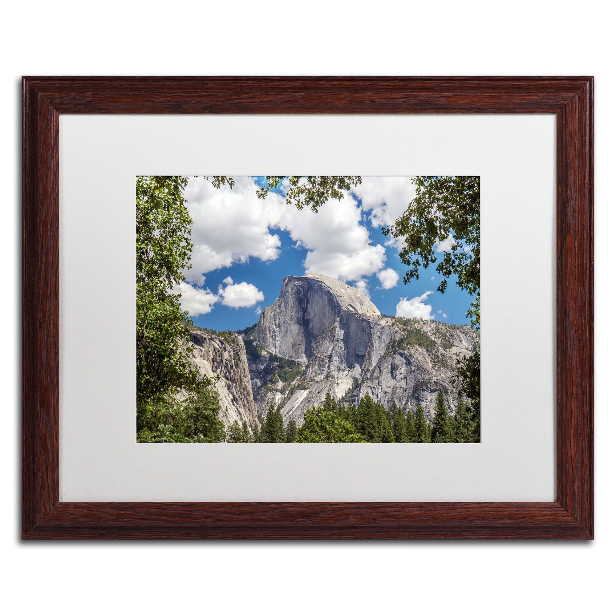 'Yosemite Half Dome' by Pierre Leclerc Framed Photographic Print