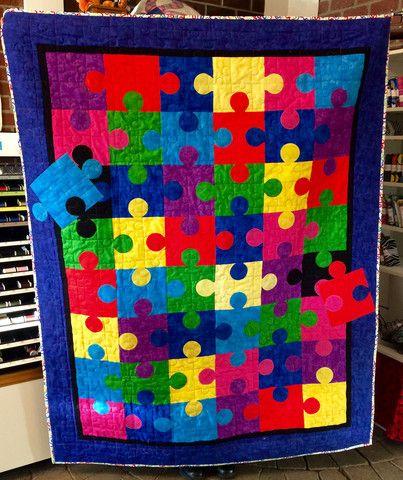Puzzle Quilt Saturdays Quilt N Sew Puzzle Quilt