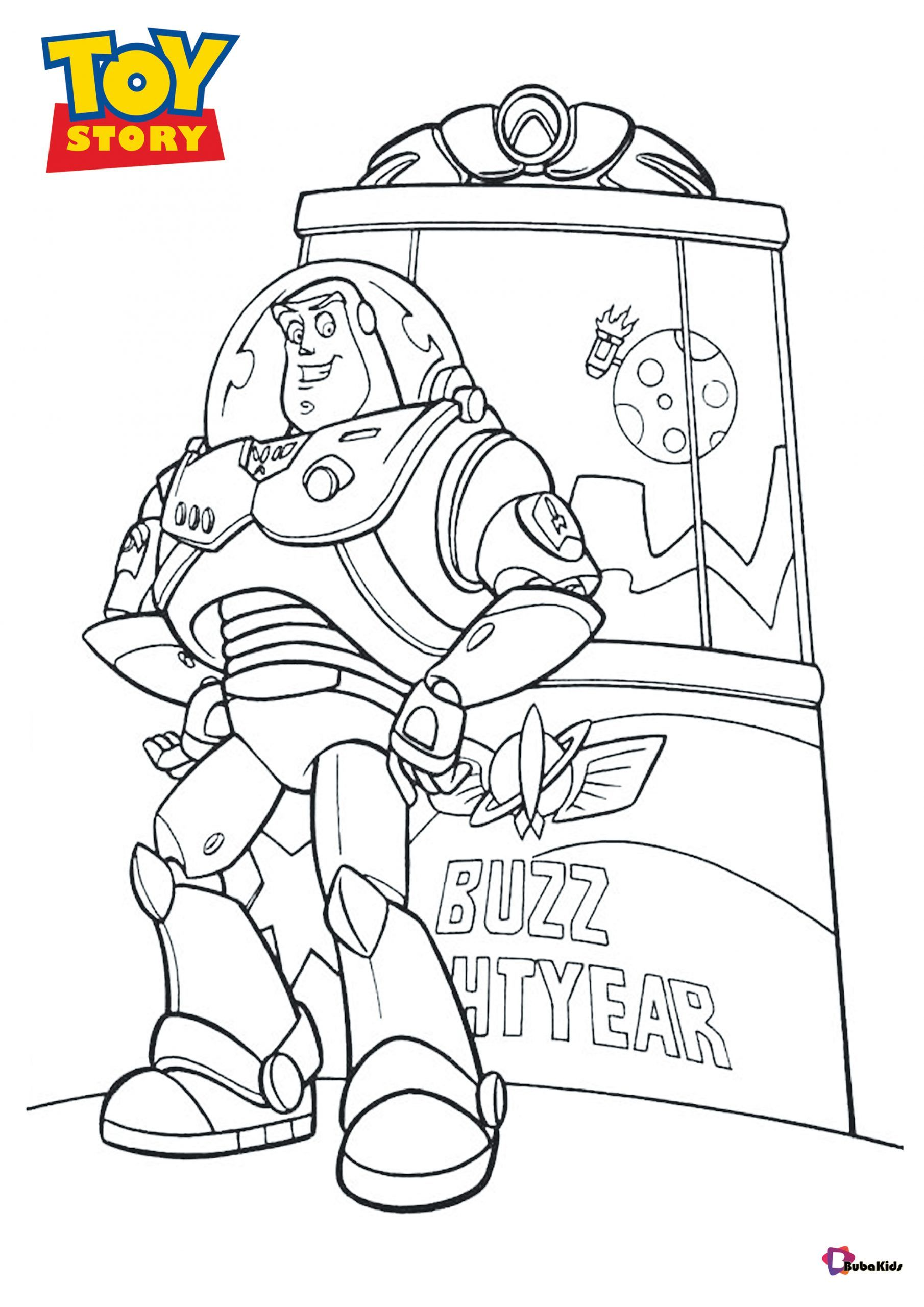 Printable Coloring Pages Of Buzz Lightyear Toy Story Character Collection Of Cartoon Coloring Pages F Cartoon Coloring Pages Coloring Pages Printable Coloring