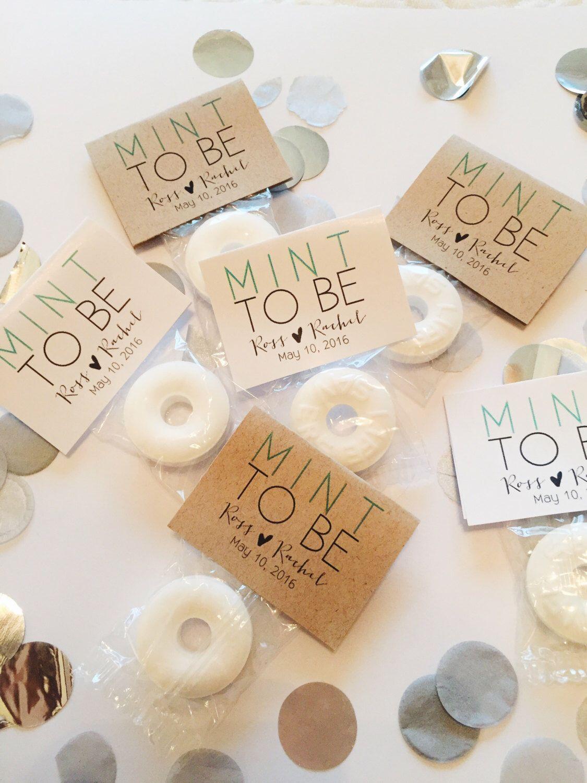 Mint To Be Wedding Favors Custom Mint Favors Mint Wedding Favors 50 Mints By Emeraldan Wedding Reception Favors Mint Wedding Favors Winter Wedding Favors