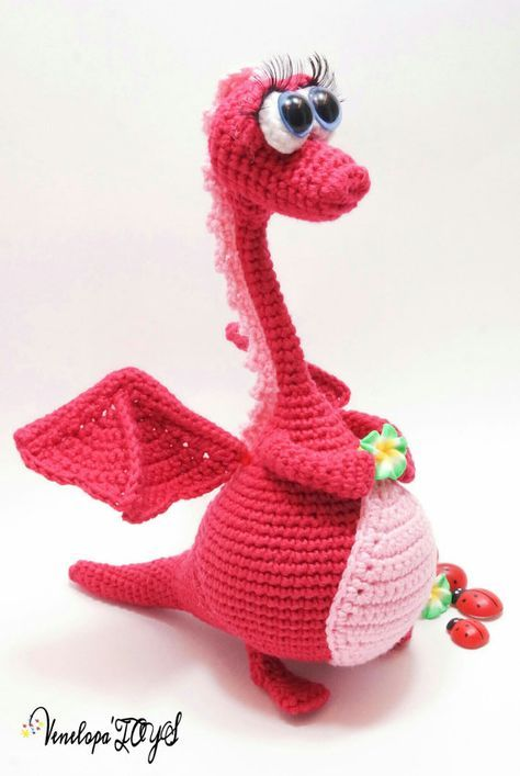 Pattern Dragon, amigurumi crochet pattern, crochet dragon pattern ...