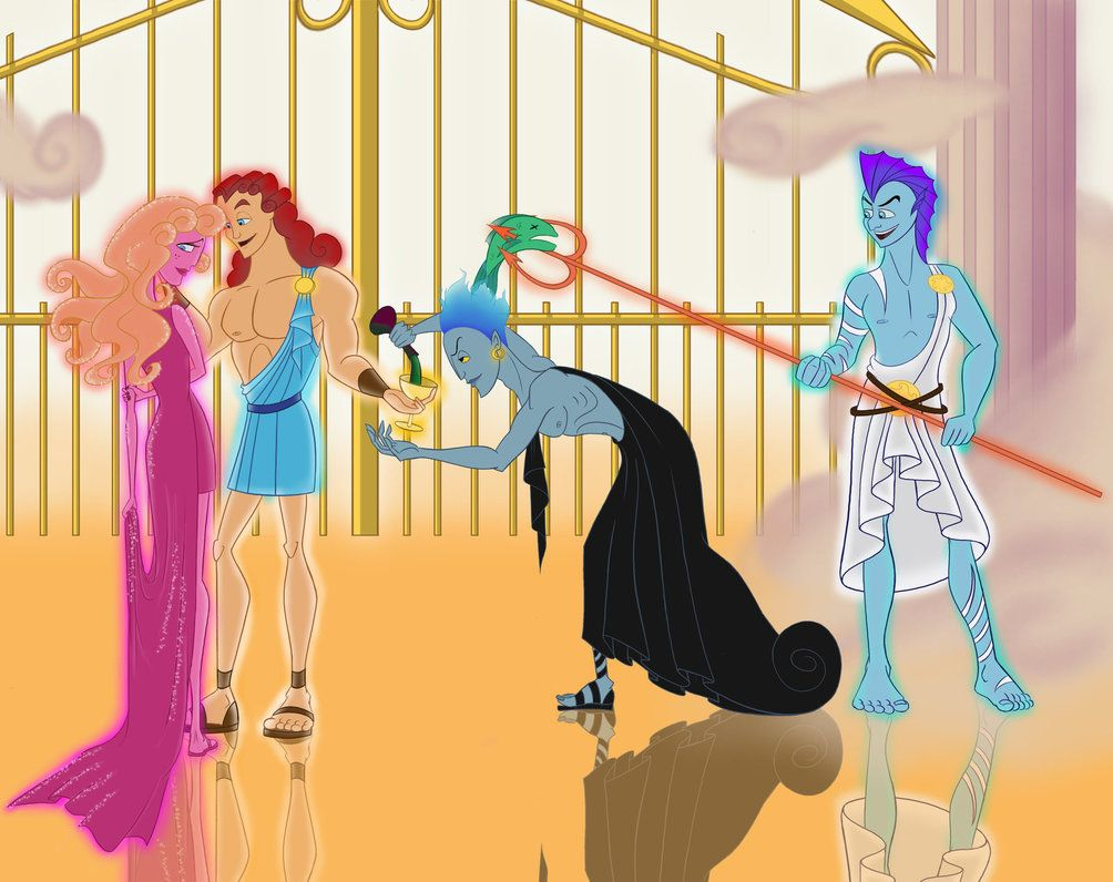 Disney Hercules Gods Like A Young God By Zdzichu476 On