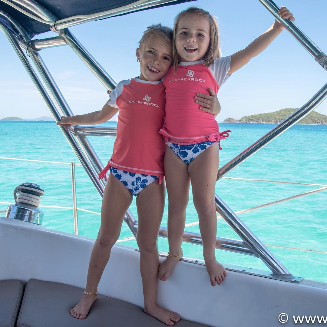 My beauties enjoying the sun that is now shining strong. #sailing #sailboat #cruising #travellingwithkids #islands #ocean #sun #happy #girls @snapperrock.swimwear #photooftheday #stjohn #usvi by its_a_necessity