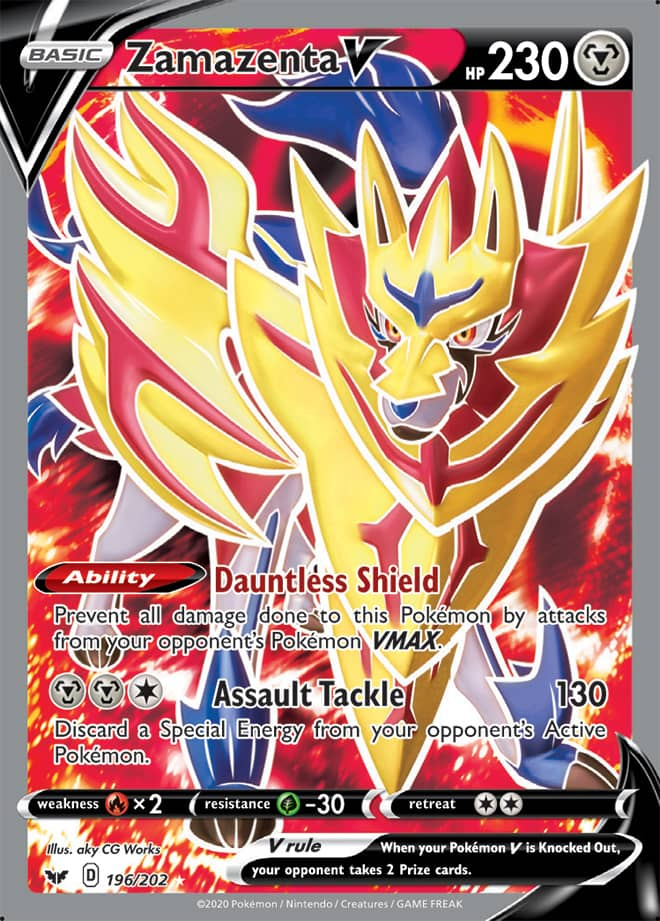 The Pokemon Trading Card Game Sword Shield Cool Pokemon Cards Rare Pokemon Cards Pokemon Trading Card
