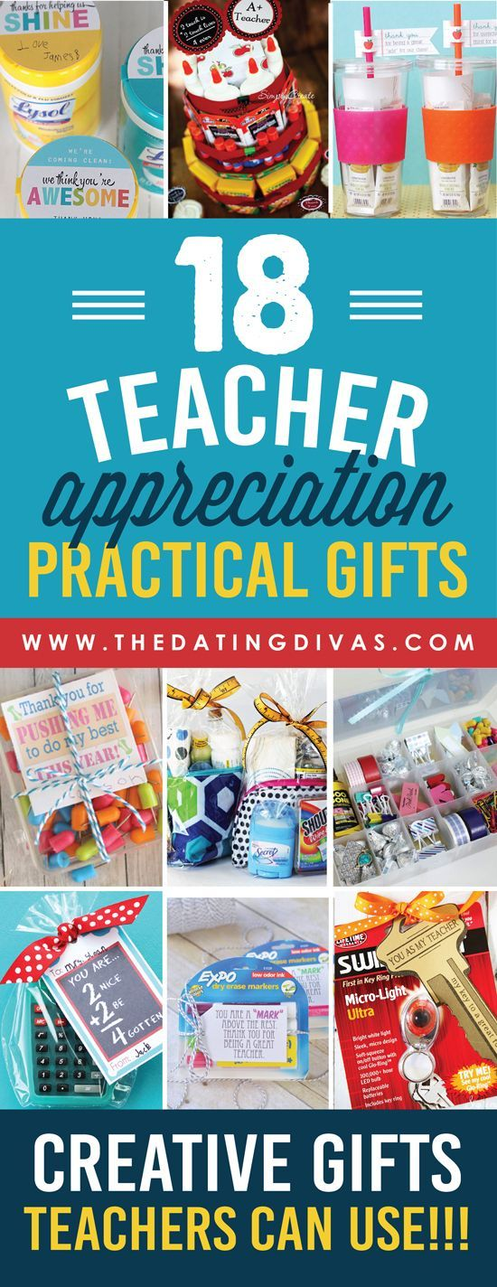 Quick and Easy Teacher Appreciation Gifts And Ideas