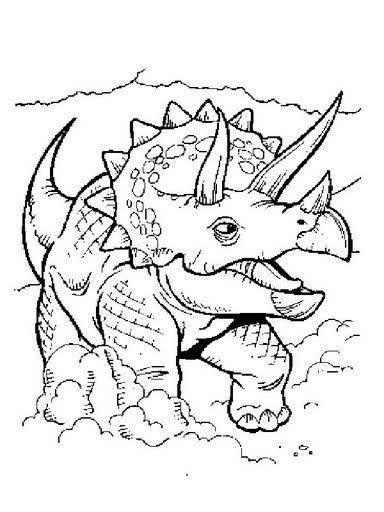 Dinosaurios para colorear  hyperpost  Colorear Dinosaurios para