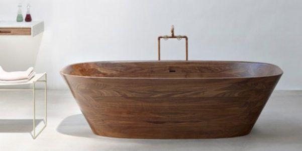 Vasche Da Bagno In Legno A Casa Come In Una Spa Www Milano Design