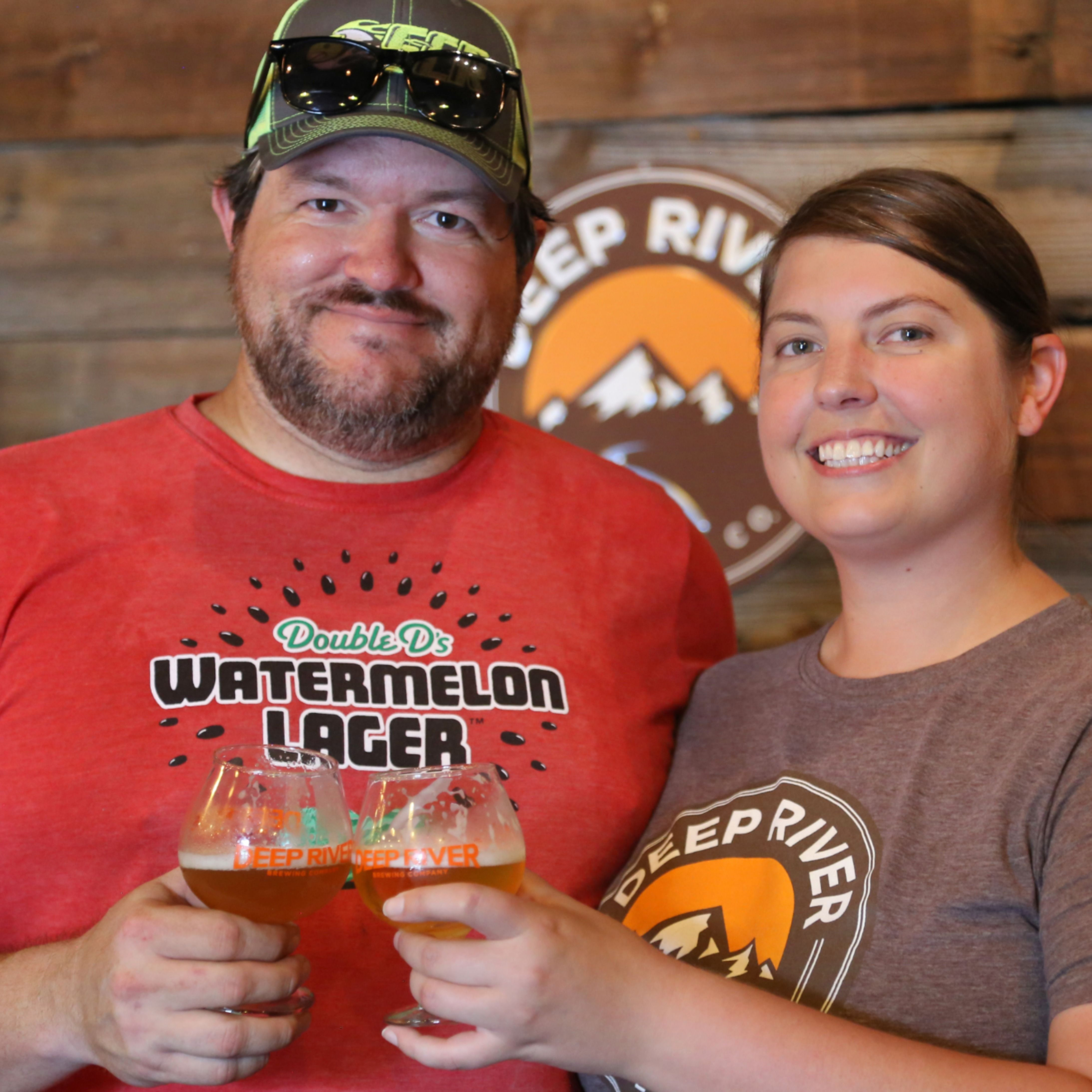 Meet Deep River Brewing Owners Paul And Lynn Auclair Who Opened The First Legal Brewery In Joco In 2020 Craft Beer Brewery Lynn