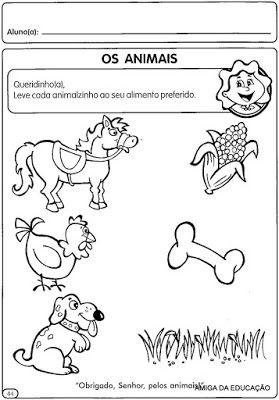 Atividades Para O Maternal Vol 3 Desenhos Para Colorir Com