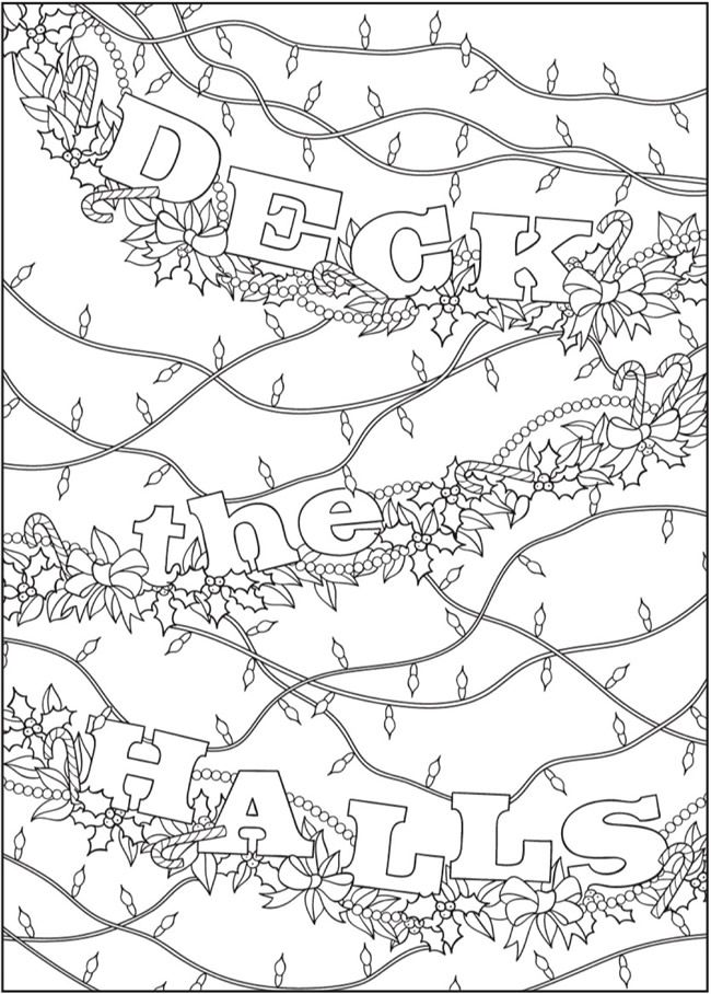 BLISS Christmas Coloring Book Your PASSPORT TO CALM By Jessica Mazurkiewicz Welcome To Dover
