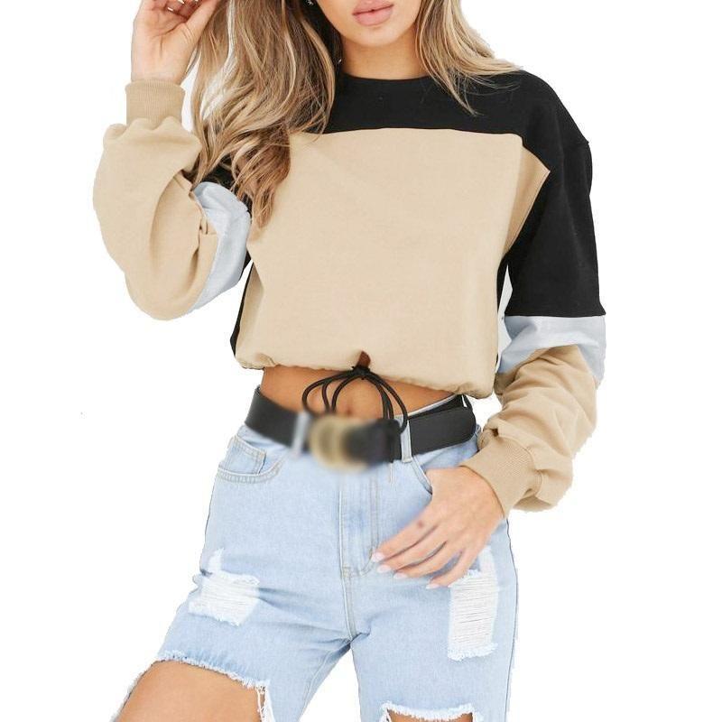 the latest 10065 66126 Hot Chic Street Wear Loose Crop Top Sweatshirt Hoodie in ...