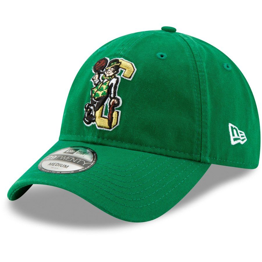 reputable site 6e640 75c6e Men s Boston Celtics New Era Kelly Green Back Half Series OTC 29TWENTY  Fitted Hat,  27.99