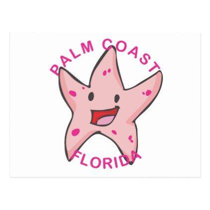 Florida - Palm Coast Postcard - postcard post card postcards unique diy cyo customize personalize
